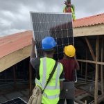 Solar panel Roof Work