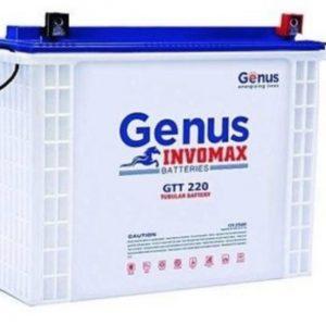 GENUS INVOMAX 200AH 12V TUBULAR BATTERY