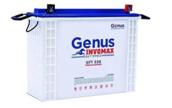 GENUS INVOMAX 200AH 12V TUBULAR BATTERY