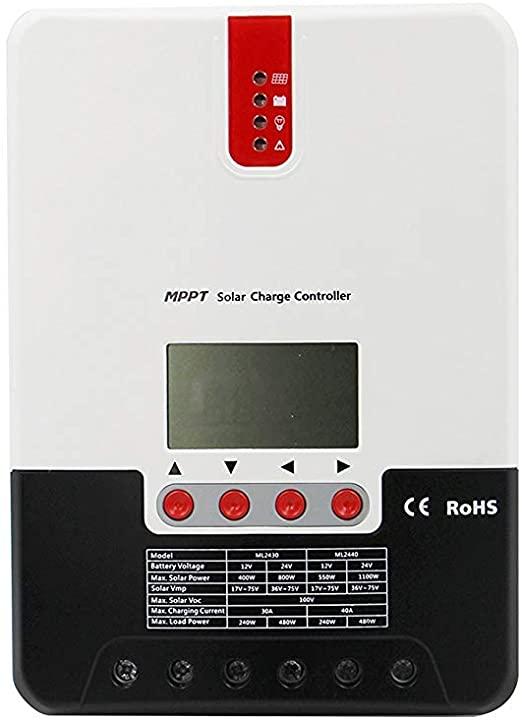 SRNE 40a 12/24 MPPT Smart Charge Controller